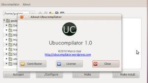.deb 包制作工具 Ubucompilator