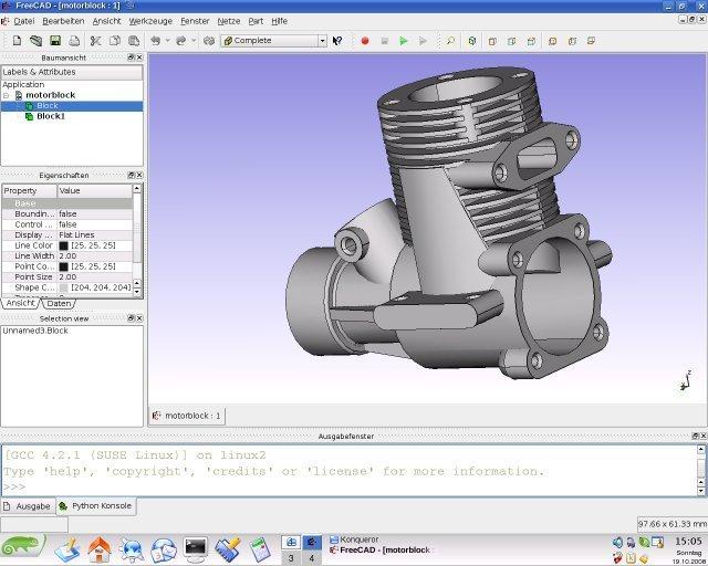 开源CAD/CAE工具 FreeCAD