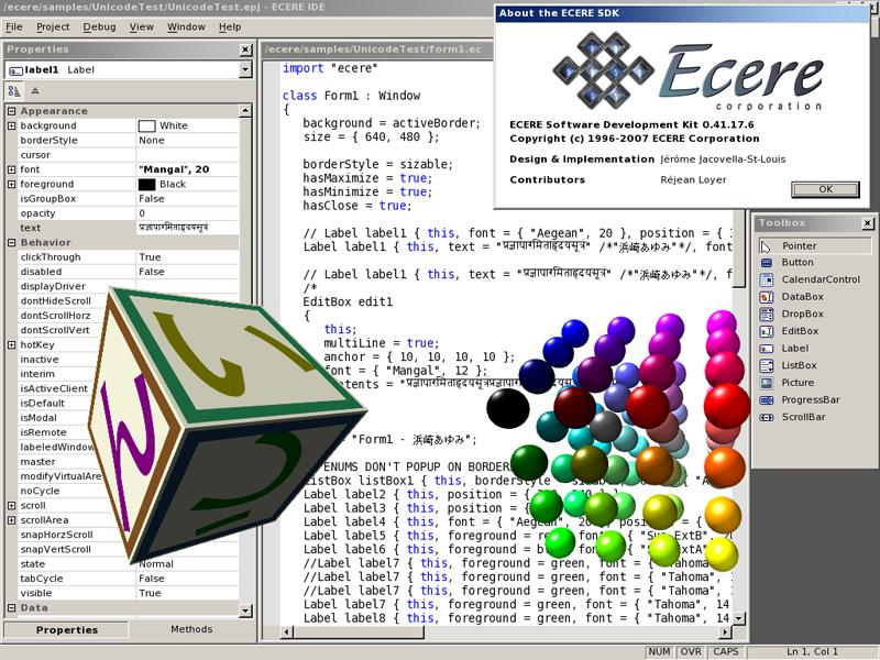 编译型编程语言 eC