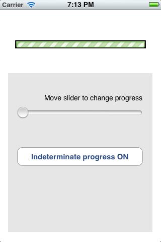 ios可定制的进度条 mnmprogressbar