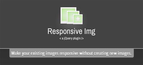 Responsive Img - 实现响应式图片的jQuery插件
