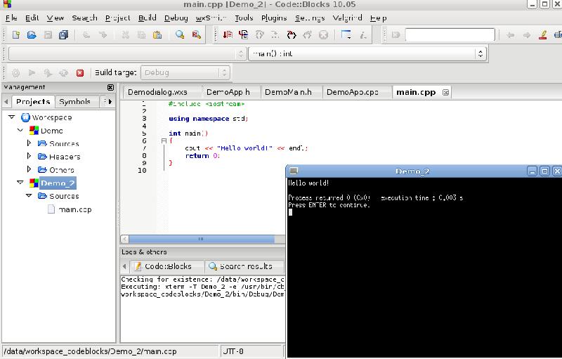 Code::Blocks - Linux中 C++ IDE 开发环境搭建