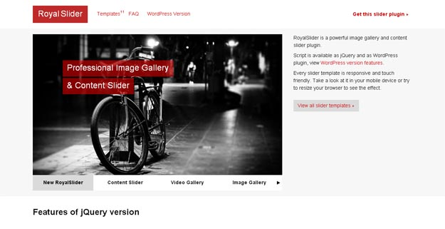 40 个让你的网站更加友好的 jQuery 插件