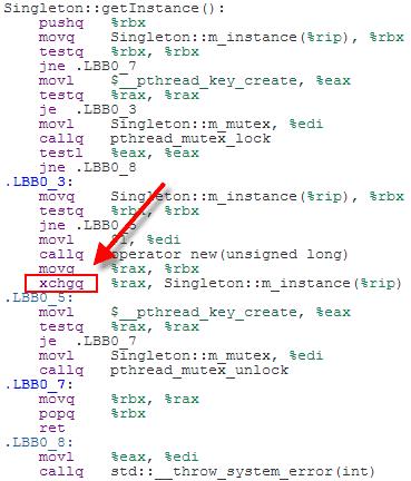 C++11 中的双重检查锁定模式