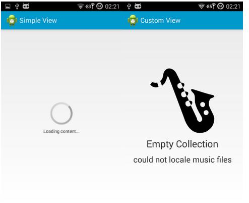 实现正在加载中界面的Android库:DynamicBox