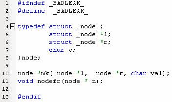 linux c 内存泄露检测工具:valgrind