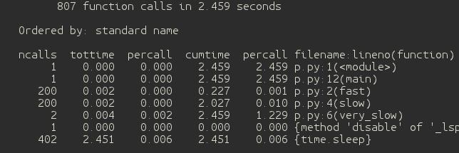 Python性能鸡汤