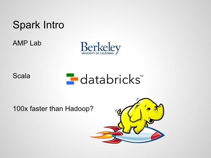 讲给硅谷创业者的大数据精华集合