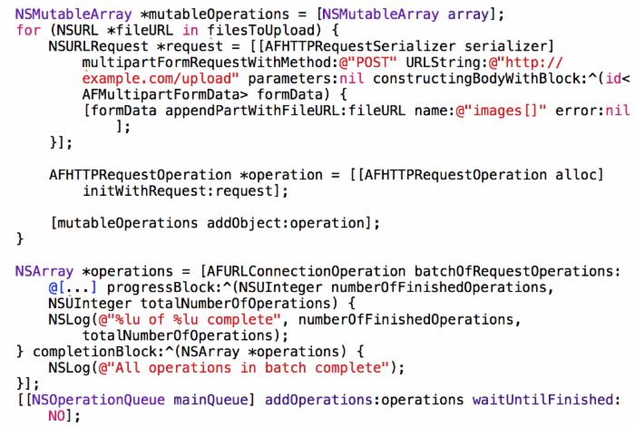 iOS 第三方开源库----->AFNetworking