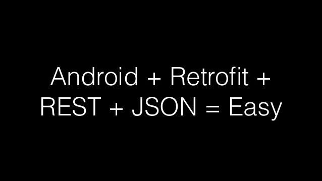 ndroid网络请求--retrofit2使用方
