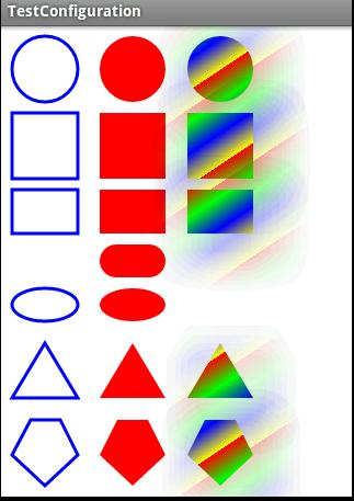 android软件开发:在canvas中利用path绘制基本图形图片