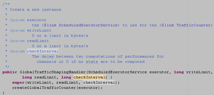 将当前的yteuf放到定时任务task中缓存由定时任务线程池在延迟