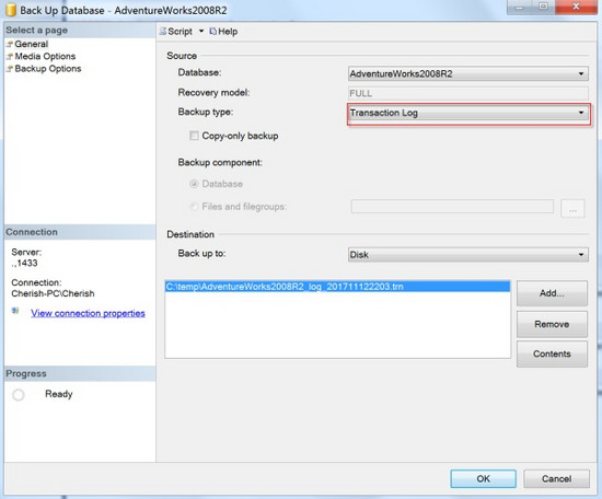 MySQL · 最佳实践 · SQL Server三种常见备份 已认证的机构