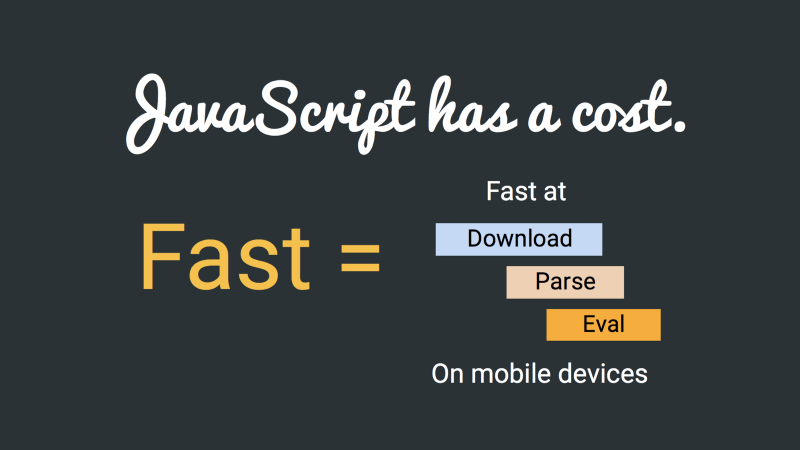 JavaScript的成本