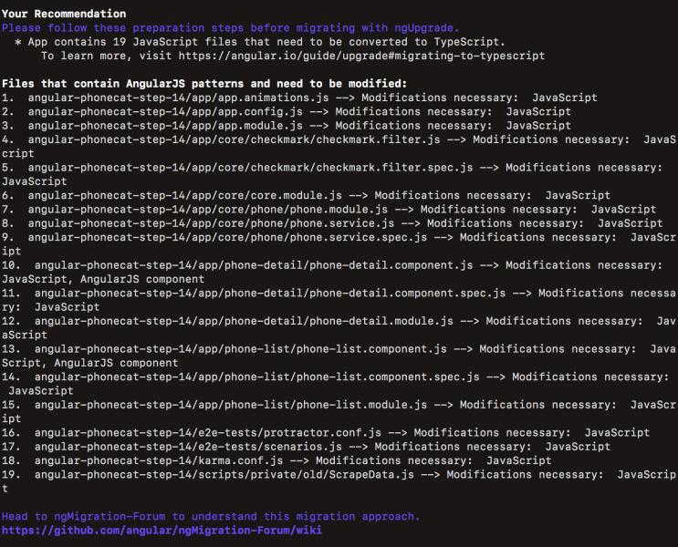谷歌推出最新AngularJS升级工具,可快速迁移至Angular