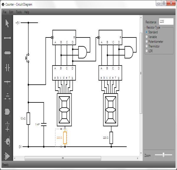 电路图绘制工具 Circuit Diagram 1.2 发布