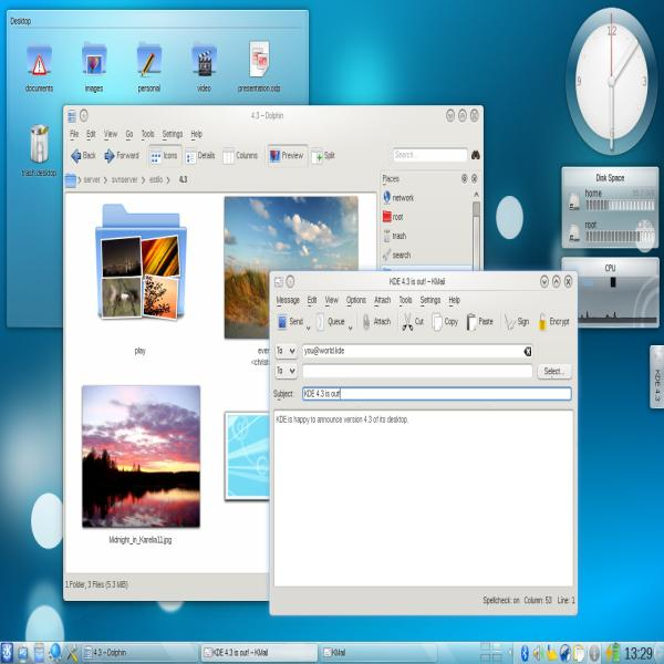 K桌面环境 KDE 4.7.1 发布