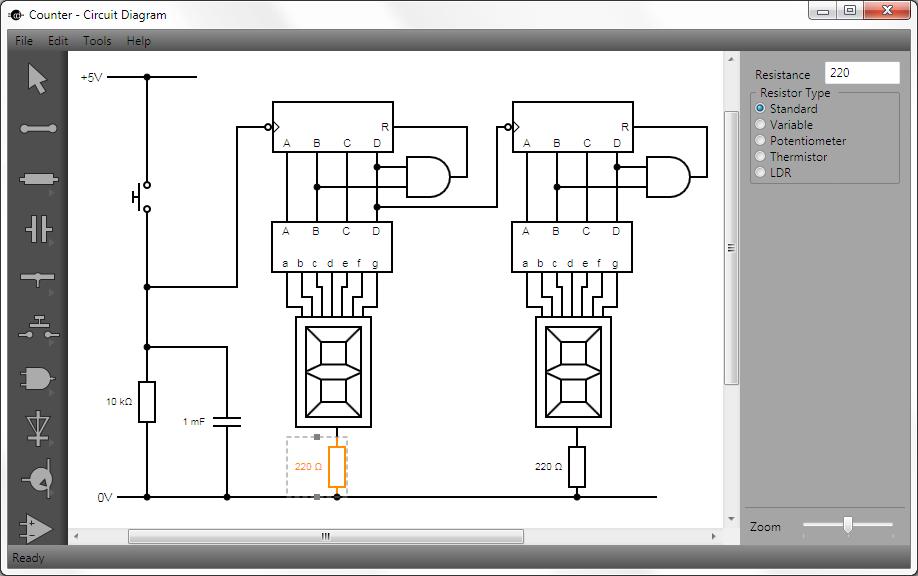 电路图绘制工具 circuit diagram 2.0 alpha 发布