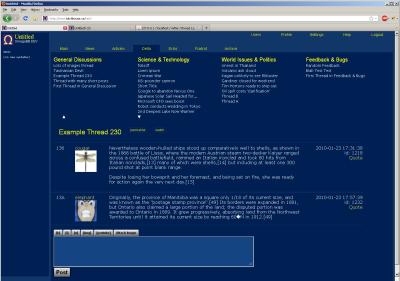 PHP论坛系统 OmegaBB