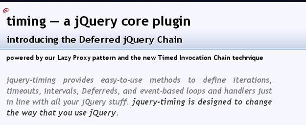 15个简化开发任务的最新jQuery插件
