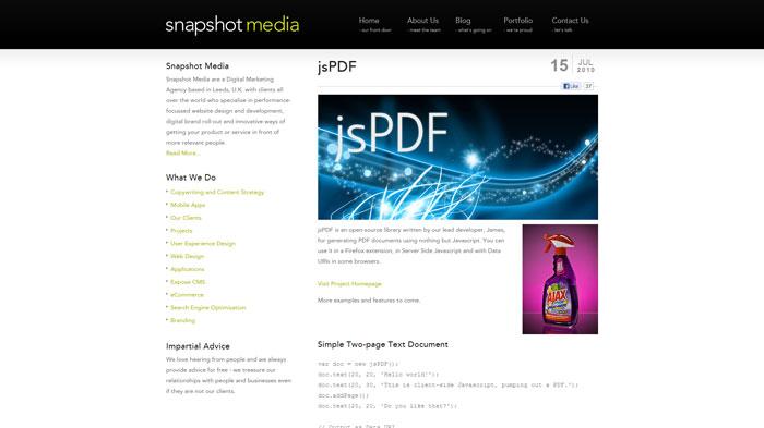 8个实现在线浏览PDF文件的实用jQuery插件