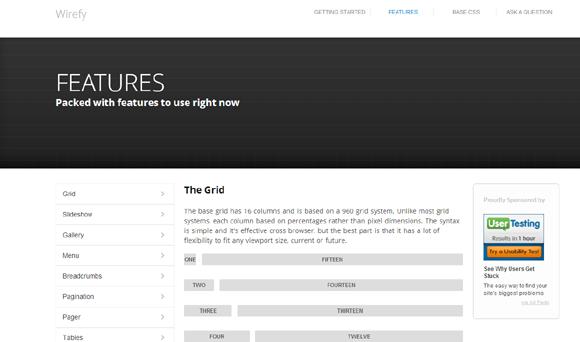 10个用于设计响应式网站的实用css框架图片