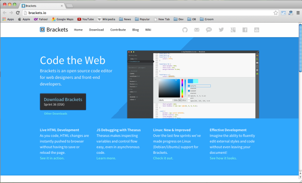 对于Web开发来说 8 个最好的跨平台编辑器