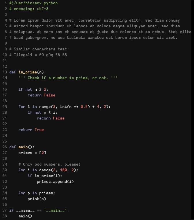 Hermit:一位程序员设计的编程字体