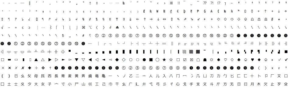 最佳编程字体:M+