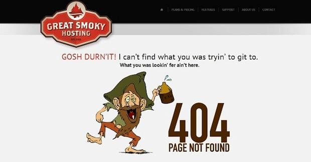 30+创意的404错误页面设计