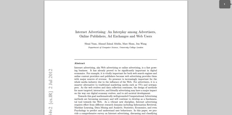 essay about internet advertising Essay on world history of advertising in ancient times the most common form of advertising was by word of mouth the archaeologists have found babylonian clay tablet dated 3000 bc having inscription of a shoemaker, a scribe and an ointment dealer.