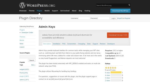 admin-keys