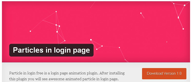 particle in loginfree
