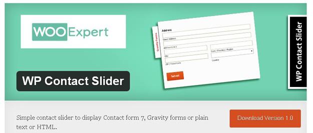 wp contact slider