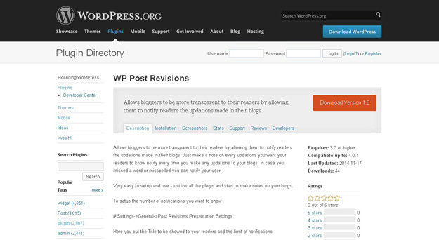 wp post revision