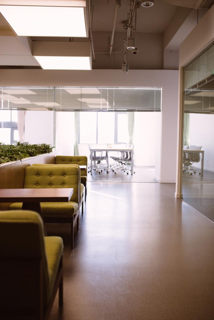 在豌豆荚办公是怎样一种体验?选择坐哪里真是一件麻烦事