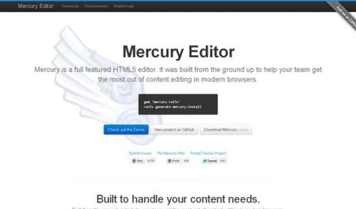 7个最佳的便利的html5编辑器