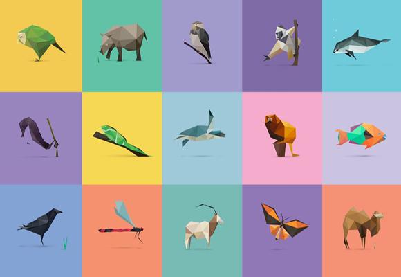 会发现每种动物都由最基本的