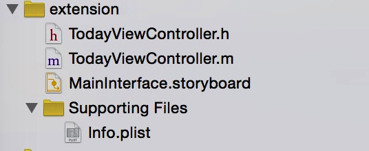 iOS开发之构建Widget