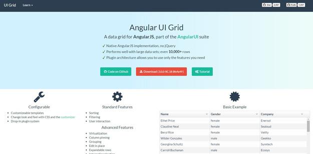 10 个非常有用的 AngularJS 框架