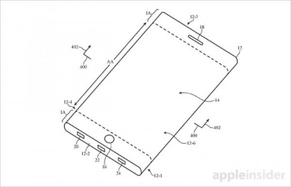 可折叠iPhone技术专利再次遭到曝光