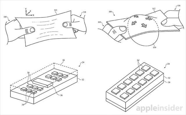 苹果申请可拉伸显示屏专利 准备用iPhone上?