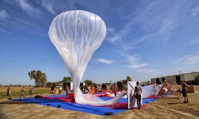谷歌上网气球实现精准操控 气球数量大减 盈利前景提高