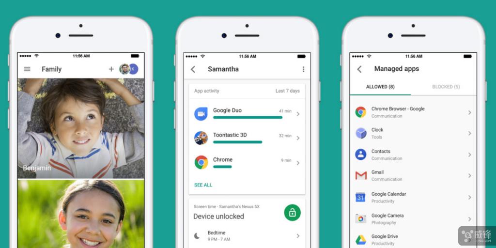 Family Link应用登陆iOS了 iPhone可监控安卓手机