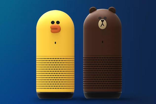 日本即时通讯巨头Line发布数字助理智能扬声器