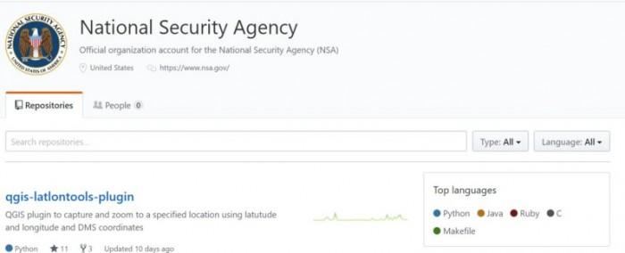 NSA美国国家安全局开通Github帐户