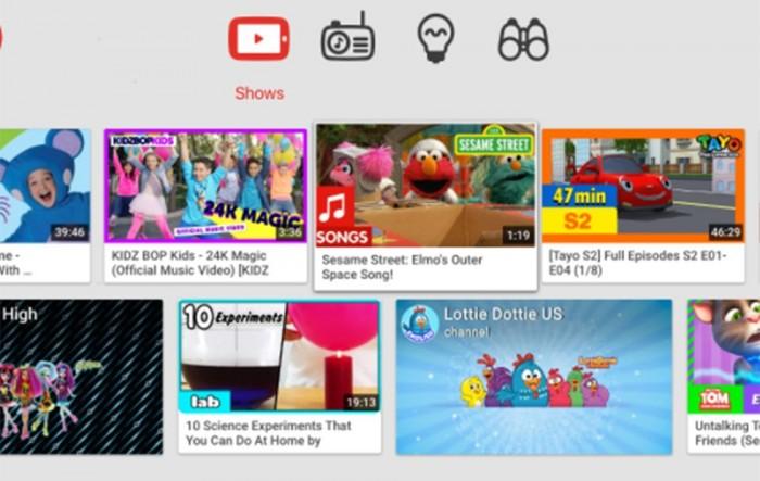 Android TV版YouTube Kids正式发布
