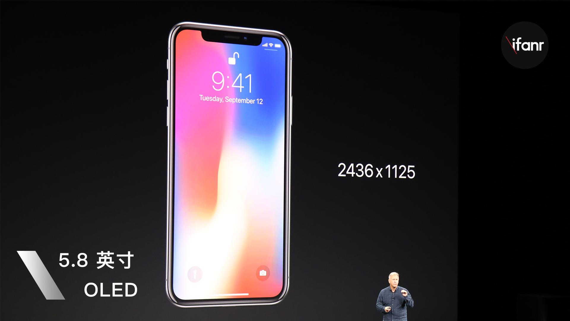 苹果iPhone发布会超全记录:iPhone X技术颠覆,价格贵哭