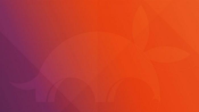 这是Ubuntu 17.10默认壁纸