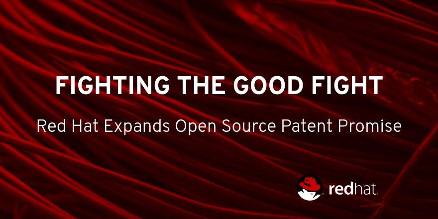 开源旗手Red Hat宣布扩大其开源专利的使用范围